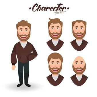 Character man design