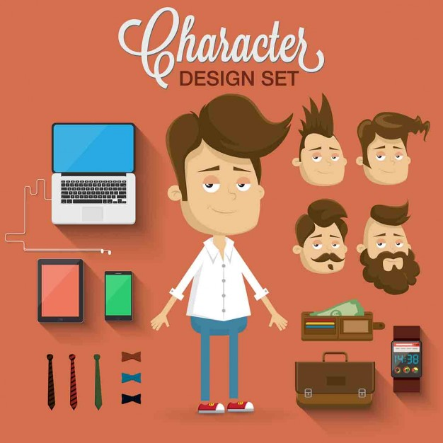 Character with different complements
