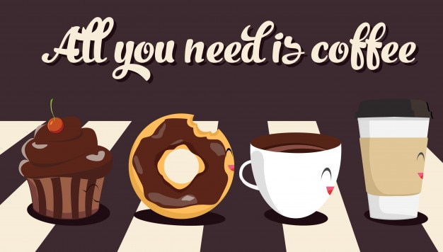 Characters coffee