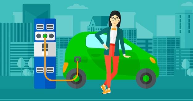 전기 자동차 충전