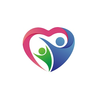 Charity and foundation logo vector