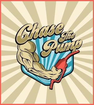 Chase the pump retro