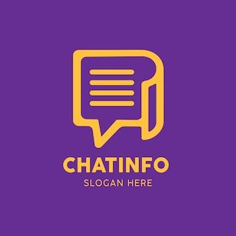 Логотип приложения для информационных сообщений чата