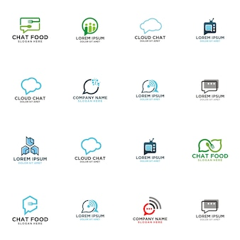 Chat talk logo