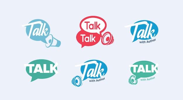 チャットトークスピーチアイコンコミュニケーションコンサルティングロゴアンサーダイアログメッセージングサインコンサルトサポート