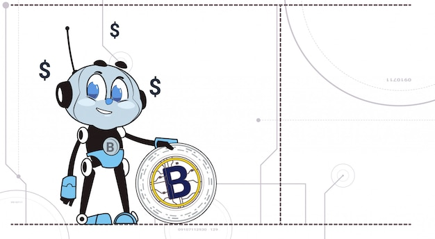 Chatbot hold bitcoin robots and crypto currency