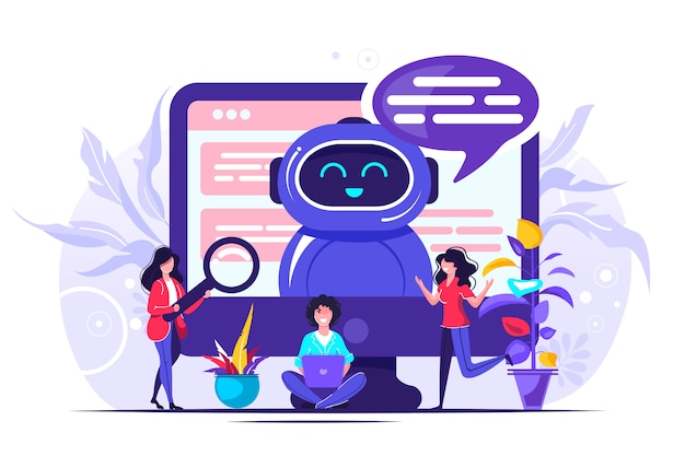 Chatbot illustration