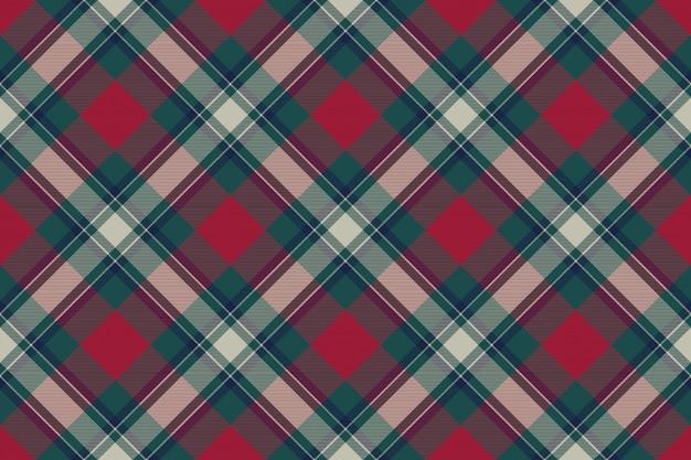Check fabric texture seamless pattern