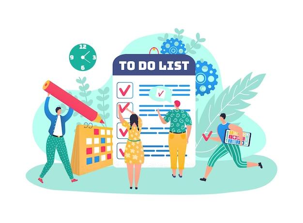 作業管理のチェックリスト