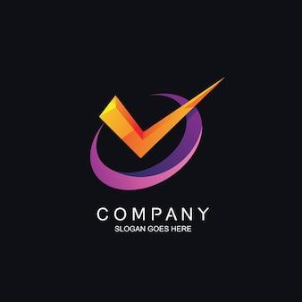ロゴのデザインを確認してください。
