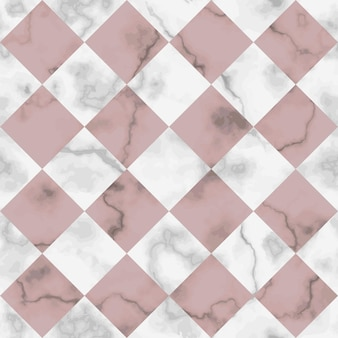 Check marble seamless pattern repeat rhombus marbling surface modern  chessboard background