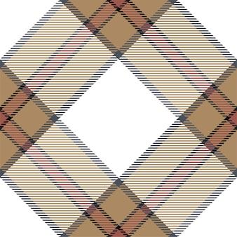 チェック柄のパターンをシームレスにチェック。タータン生地の質感。ストライプの正方形の背景。ベクトルテキスタイルデザイン。