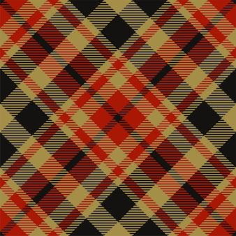 원활한 격자 무늬 패턴을 확인하십시오. 타탄 패브릭 질감입니다. 스트라이프 사각형 배경입니다. 벡터 섬유 디자인입니다.