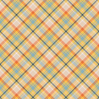 격자 무늬 원활한 패턴을 확인하십시오. 섬유 장식의 배경입니다. 플랫 패브릭 디자인. 격자 무늬 모직물.