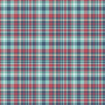 Check plaid seamless pattern. background of textile ornament. fabric. tartan.