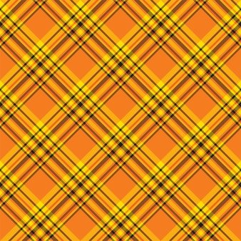 Check plaid seamless pattern. background of textile ornament. flat fabric design.