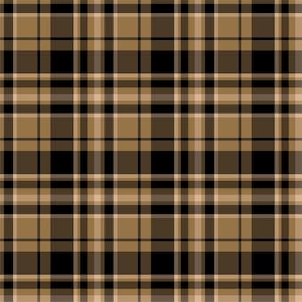 Check plaid seamless pattern.   flat fabric design. tartan.