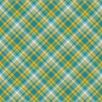 격자 무늬 원활한 패턴을 확인하십시오. 플랫 패브릭 디자인. 격자 무늬 모직물.