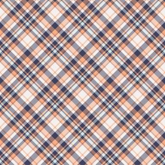 격자 무늬 원활한 패턴을 확인합니다. 섬유 장식의 벡터 배경입니다. 플랫 패브릭 디자인. 격자 무늬 모직물.