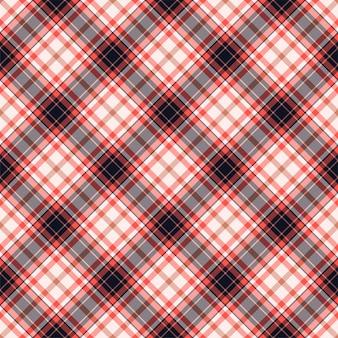 Проверить плед бесшовные модели. векторный фон текстильного орнамента. плоский дизайн ткани. тартан.