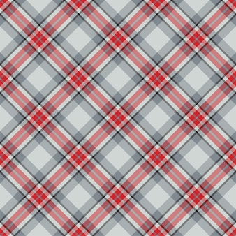 Check plaid seamless pattern. vector background of textile ornament. tartan.