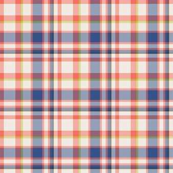 체크 무늬 원활한 패턴