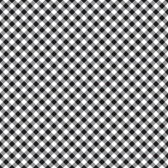 Checked plaid fabric seamless pattern