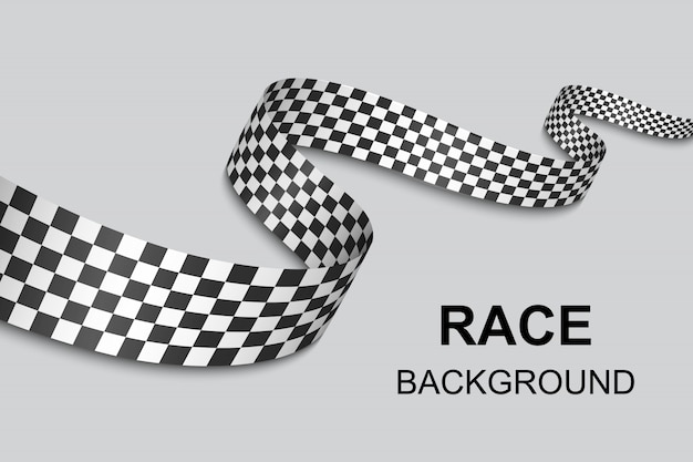 Checkered flag background . vector illustration