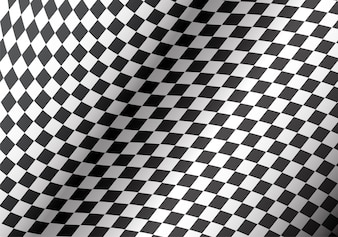 Checkered flag curve detail background texture