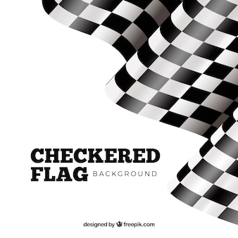Checkered flag design