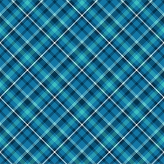 Checkered plaid seamless pattern. flat fabric design. tartan.