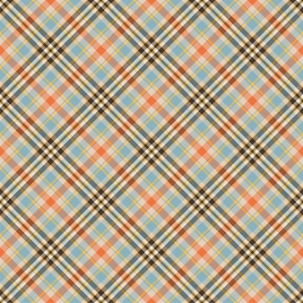 Checkered plaid seamless pattern.  flat fabric design.
