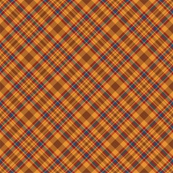 市松模様のチェック柄のシームレスパターン。テキスタイル飾りのベクトルの背景。フラットファブリックデザイン。タータン。