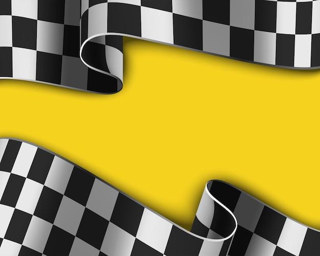 Sfondo da corsa a scacchi