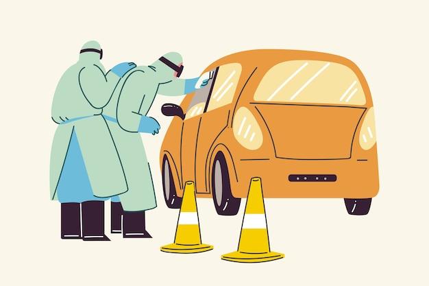 Проверка температуры кузова проверка стороны дороги
