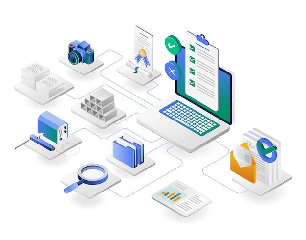 開発会社向けのチェックリストデータレポート