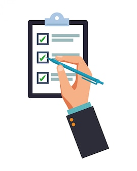 Checklist table assistance