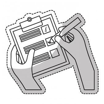 Checklist with checkmark