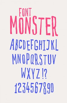 Cheerful friendly font