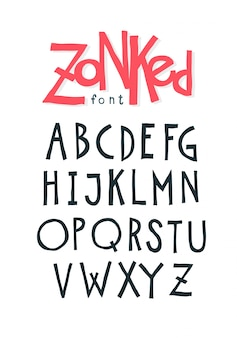 Cheerful friendly font.