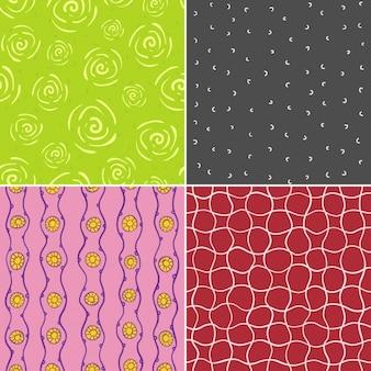 명랑 패턴 세트