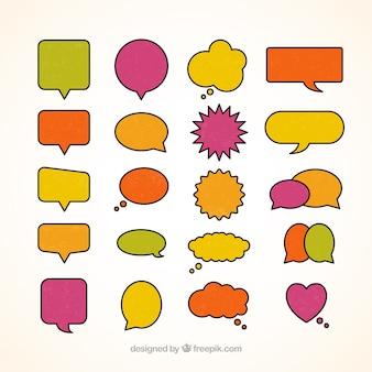 Веселые пузыри речи