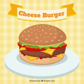 Сыр гамбургер