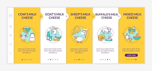 Cheese making onboarding template