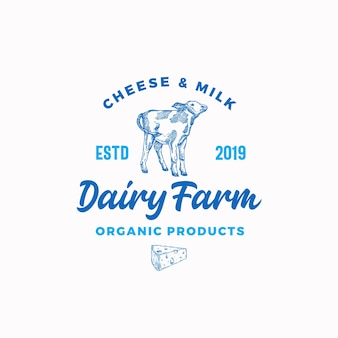 Cheese and milk dairy farm.