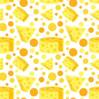 Cheese pattern background