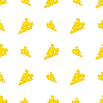 치즈 슬라이스 원활한 패턴