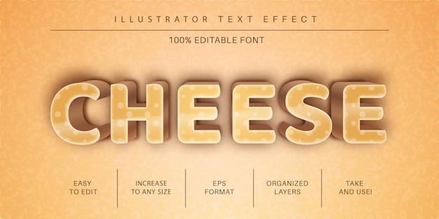 치즈 텍스트 스타일, 글꼴 효과