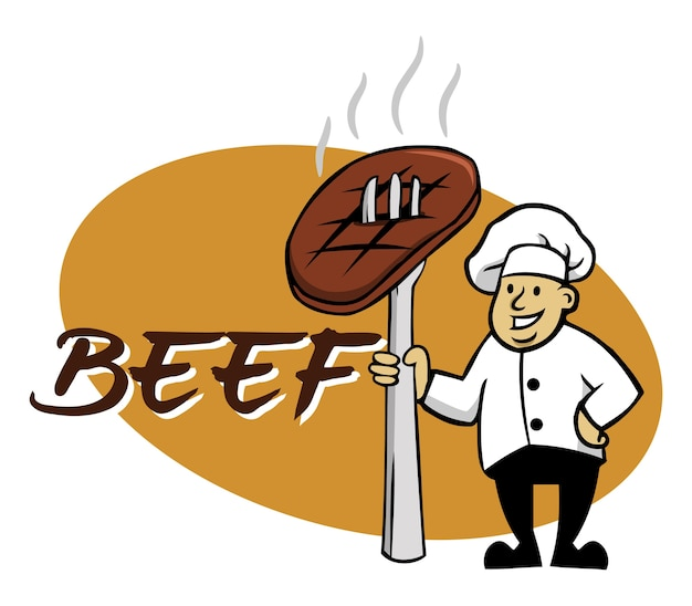 Chef and beef