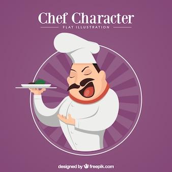 Шеф-повар, представляющий ваше творение